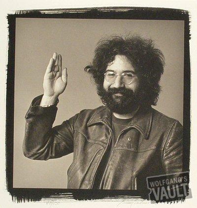 Jerry GarciaFine Art Print