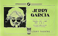 Jerry Garcia Handbill