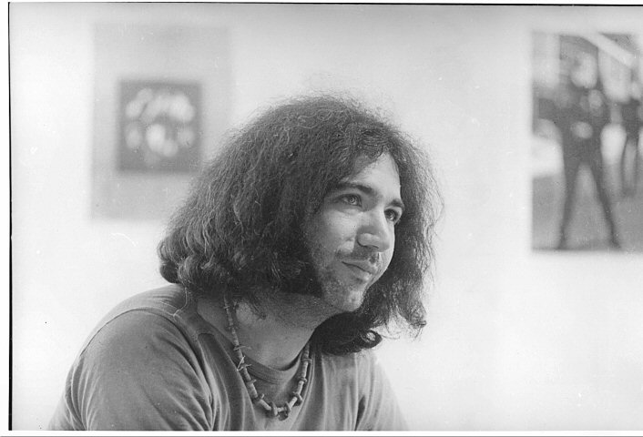 Jerry GarciaPremium Vintage Print