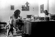 Jerry Garcia Premium Vintage Print