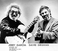 Jerry Garcia Promo Print