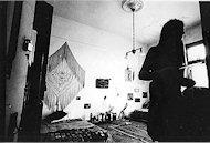 Jerry Garcia's bedroom Premium Vintage Print
