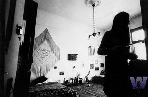 Jerry Garcia's bedroom Vintage Print