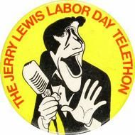 Jerry Lewis Vintage Pin