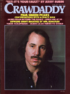 Paul Simon Crawdaddy Magazine