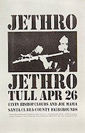 Jethro Tull Handbill