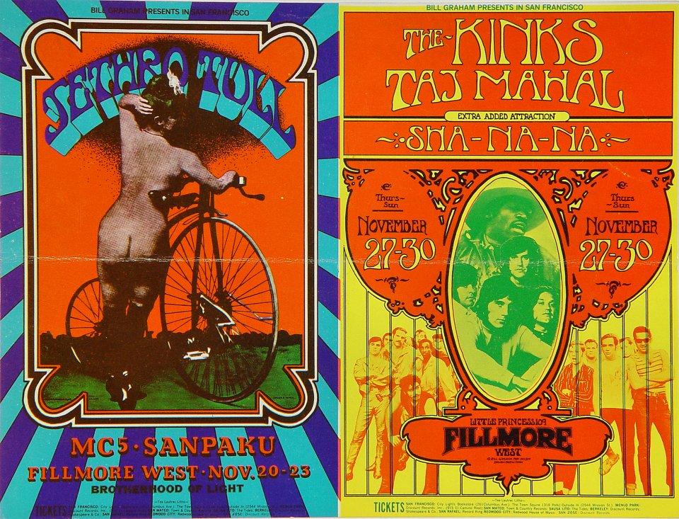 Jethro Tull Postcard