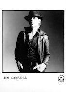 Jim Carroll Promo Print