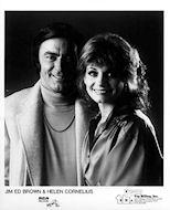 Jim Ed Brown & Helen Cornelius Promo Print