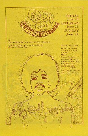 Joe Cocker Handbill