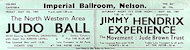Jimi Hendrix Experience Handbill