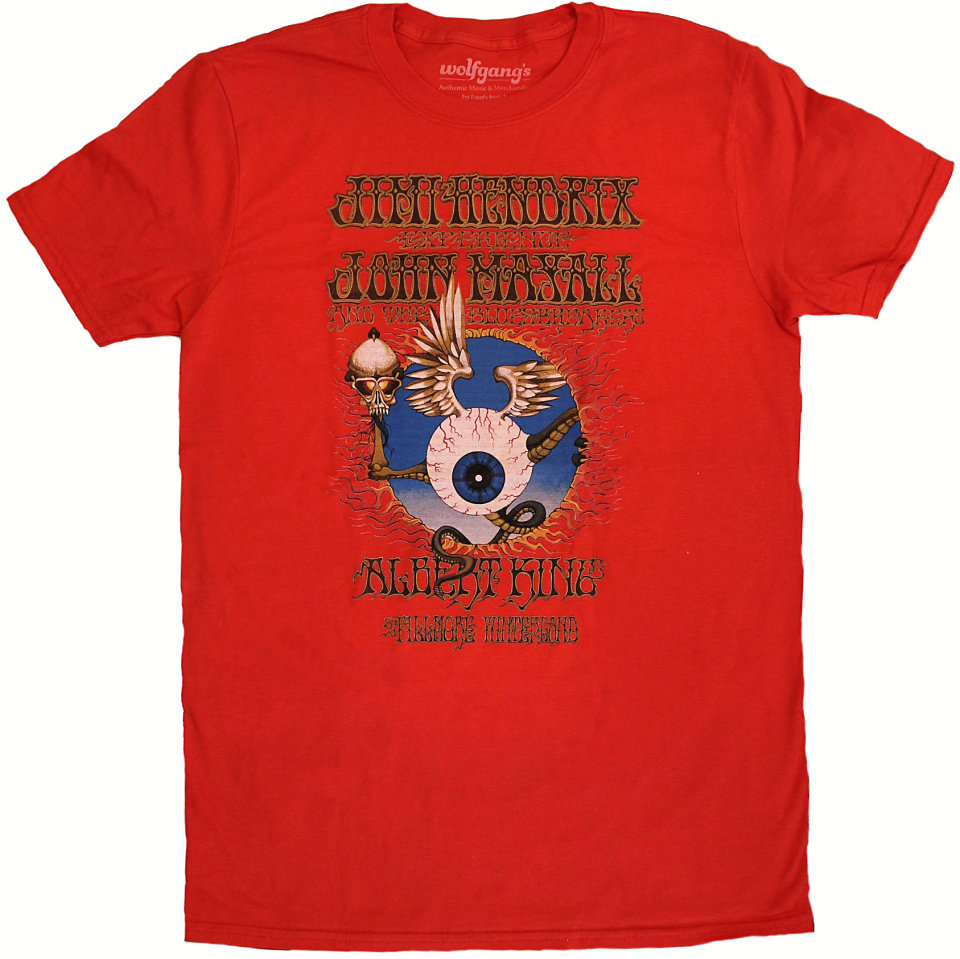 Jimi Hendrix ExperienceMen's Retro T-Shirt