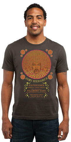 Jimi Hendrix Experience Men's Retro T-Shirt