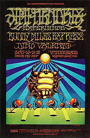 Buddy Miles Express Postcard