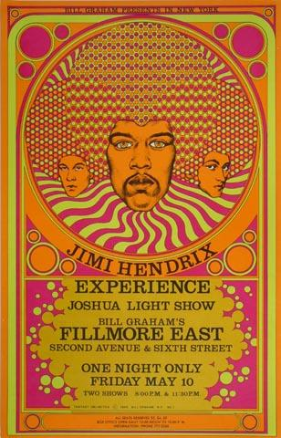 Jimi Hendrix Experience Postcard