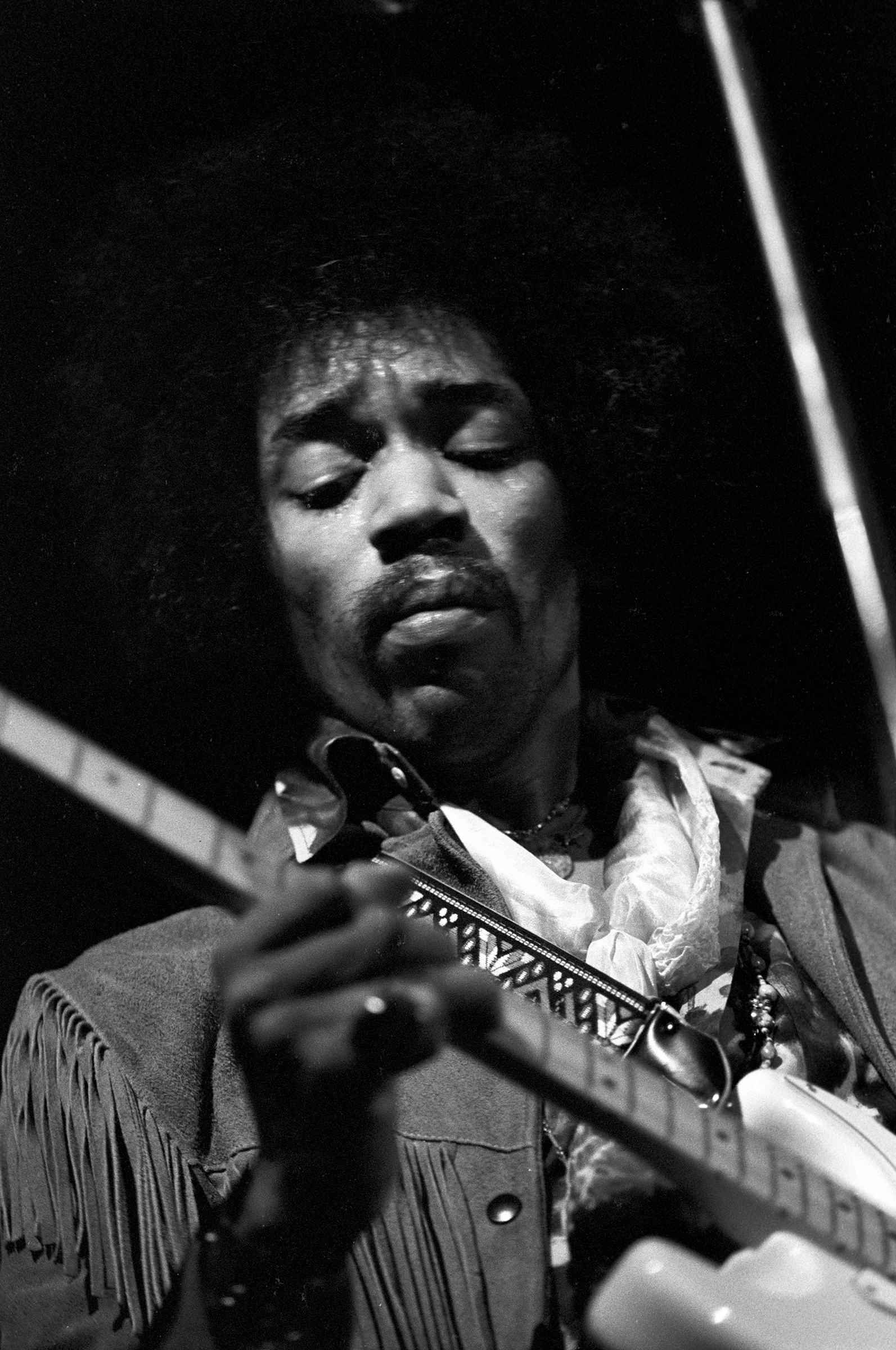 Jimi HendrixFine Art Print