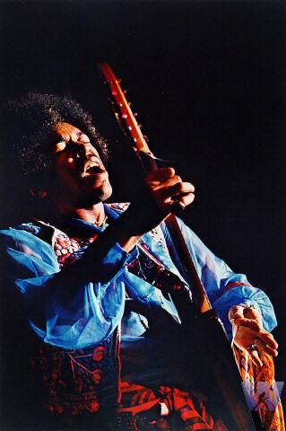 Jimi Hendrix Fine Art Print