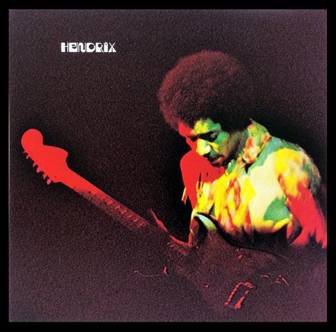 Jimi HendrixFramed Album Cover