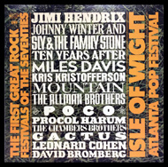 Johnny Winter Framed Album Cover
