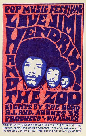 Jimi HendrixHandbill