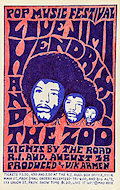 Jimi Hendrix Handbill