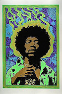 Jimi Hendrix Serigraph