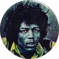 Jimi HendrixVintage Pin