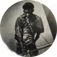 Jimi Hendrix Vintage Pin