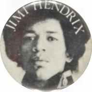 Jimi Hendrix Vintage Pin