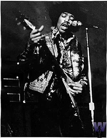 Jimi HendrixVintage Print