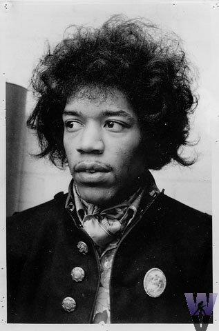 Jimi HendrixVintage Print