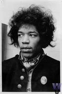 Jimi Hendrix Vintage Print