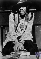Jimi Hendrix Experience Vintage Print