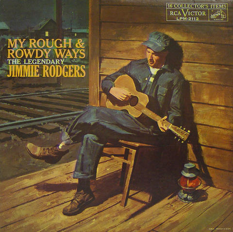 Jimmie Rodgers Vinyl (Used)
