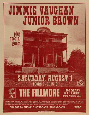 Jimmie Vaughan Poster