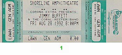 Jimmy Buffett1990s Ticket