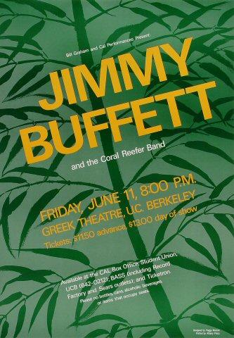 Jimmy Buffett Poster
