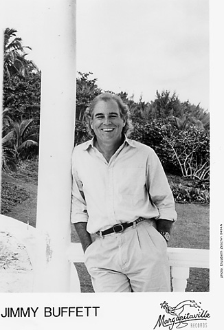 Jimmy Buffett Promo Print