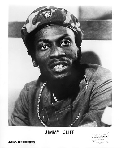 Jimmy Cliff Promo Print