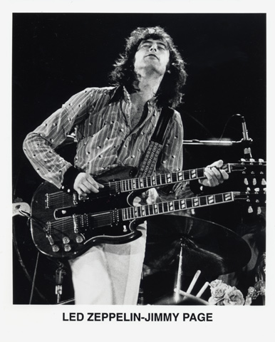 Jimmy PagePromo Print
