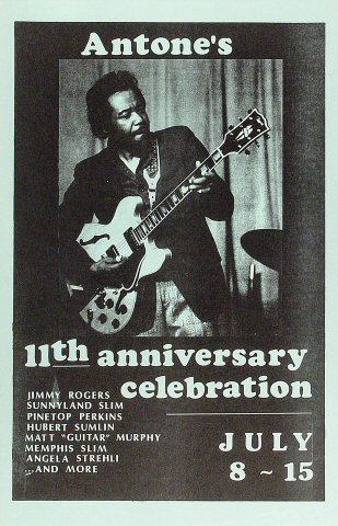 Jimmy Rogers Poster