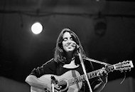 Joan Baez Fine Art Print