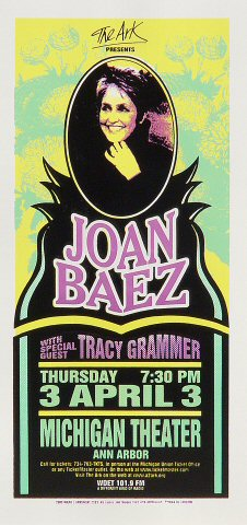 Joan Baez Handbill