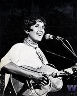 Joan Baez Premium Vintage Print