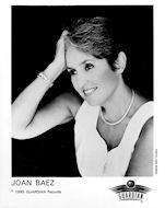 Joan Baez Promo Print