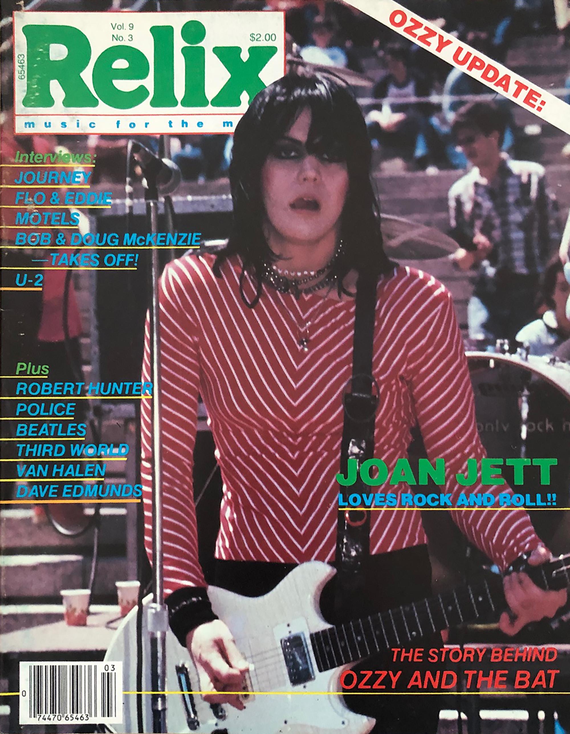 Joan JettMagazine