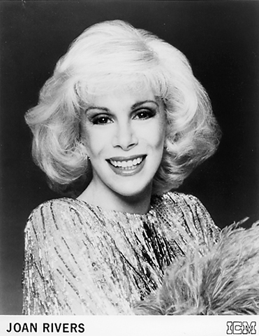 Joan Rivers Promo Print