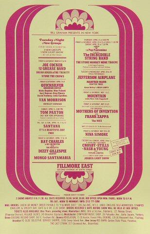 Joe Cocker &amp; The Grease Band Handbill