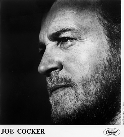 Joe Cocker Promo Print