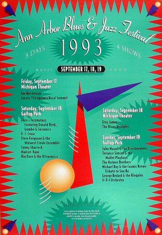 Joe Henderson Trio Poster